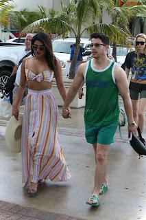 Priyanka Chopra and Sophie Turner Enjoying Beach time in Swimsuit Bikinis .xyz Exclusive Pics