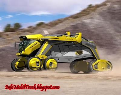 Gambar mobil dam truk canggih