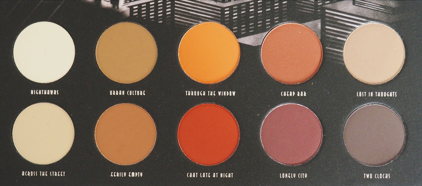 New In Beauty Zoeva Matte Eyeshadow Palette | Anacu00e9linelabod