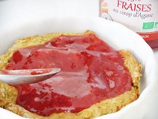 fraises au sirop d'agave - Biolo'Klock