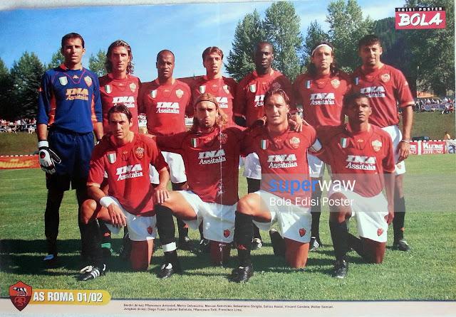 Poster Tim AS Roma 2001
