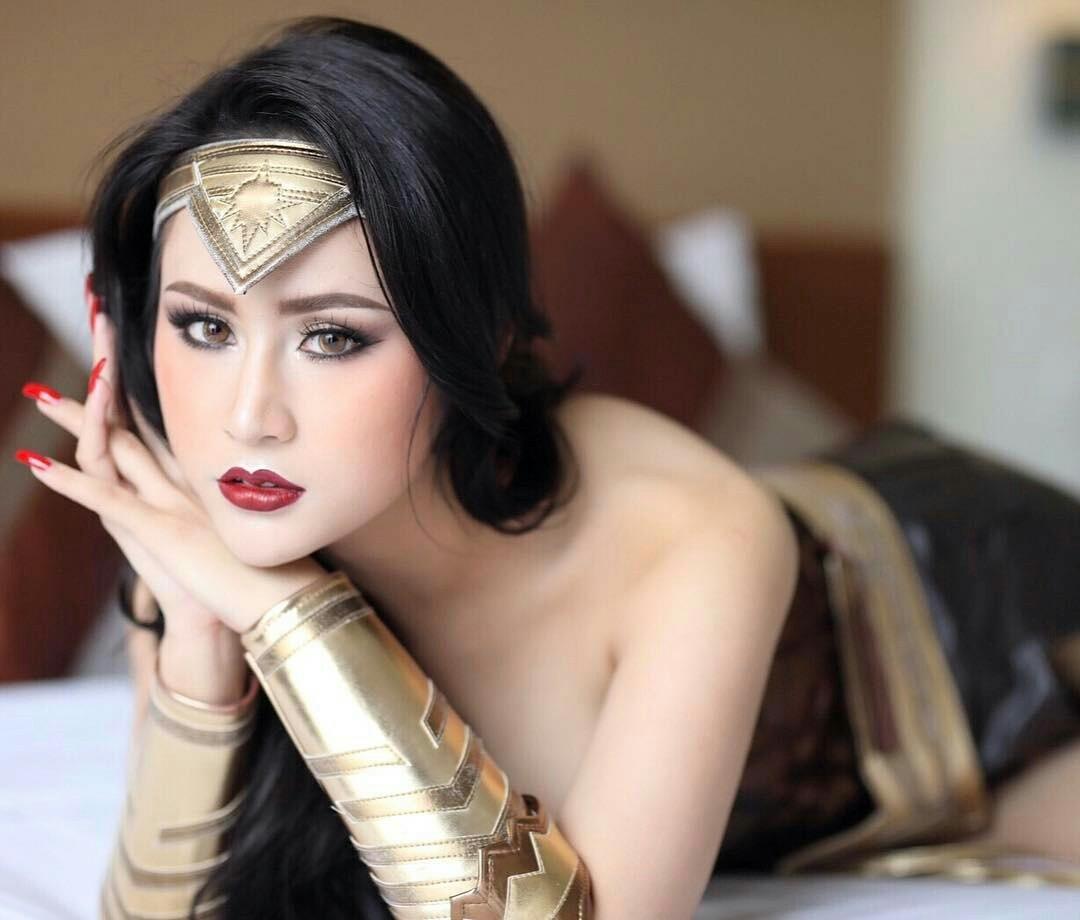 Namkleng Inarin  Transgender Wonder Woman Costume - Tg Beauty-1966