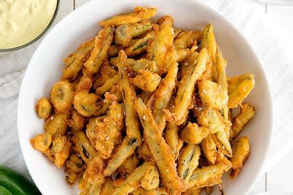 Yummy Crispy Fried Jalapenos