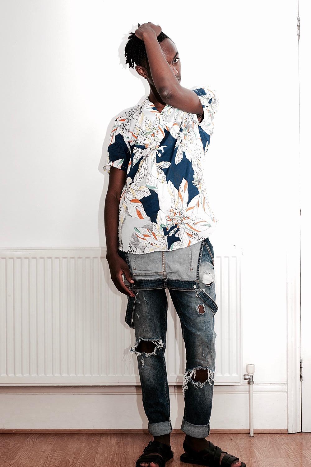 blogger, male blogger, fashion blogger, gay blogger, black blogger, locs, fashion, menswear, florals, Liberty x Topman