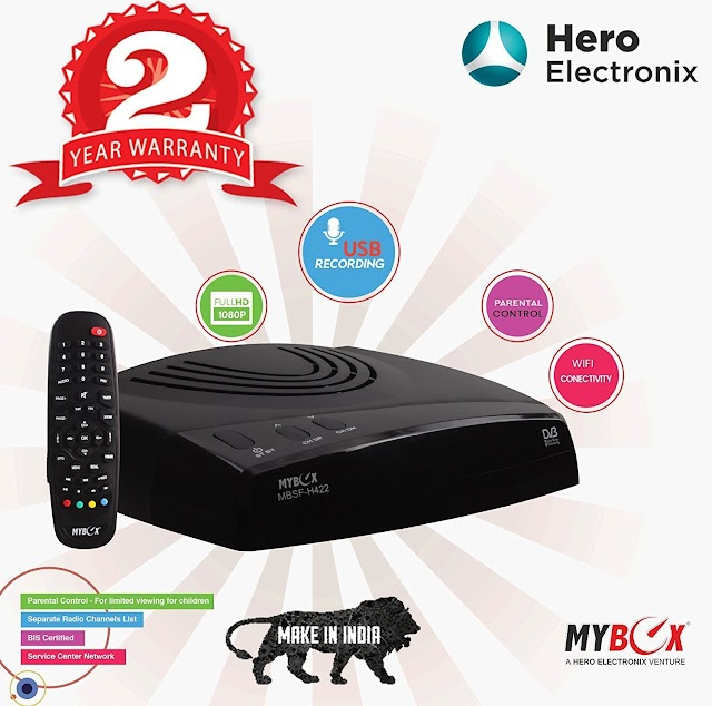 MyBox STB Free To Air Full HD Set Top Box with WiFi