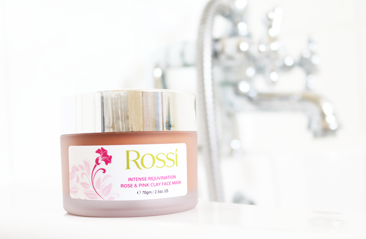 Rossi Uvema Rose & Pink Clay Face Mask review