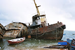 Shipwreck Art Photo Portugal Harbour