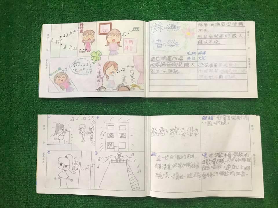 「正」想對你說: 國語文教學─成語四格漫畫(八格本對裁)