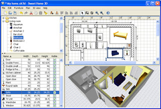 Arredamento e interior design sweet home 3d il software for Software arredo casa