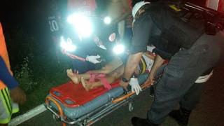 Acidente na BR-405 entre Pau dos Ferros e São Francisco do Oeste deixa dois feridos