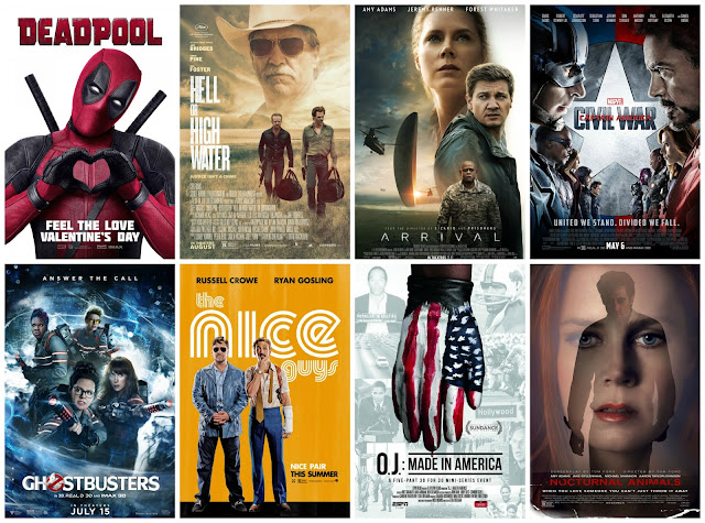 My Favourite Movies from Last Year