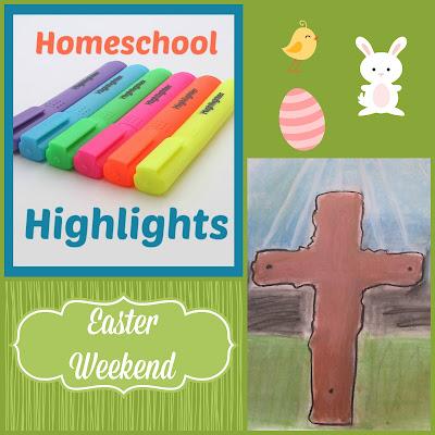 Homeschool Highlights - Easter Weekend on Homeschool Coffee Break @ kympossibleblog.blogspot.com  #HomeschoolHighlights #homeschool