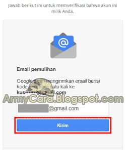 Ganti Sandi Gmail Lewat HP