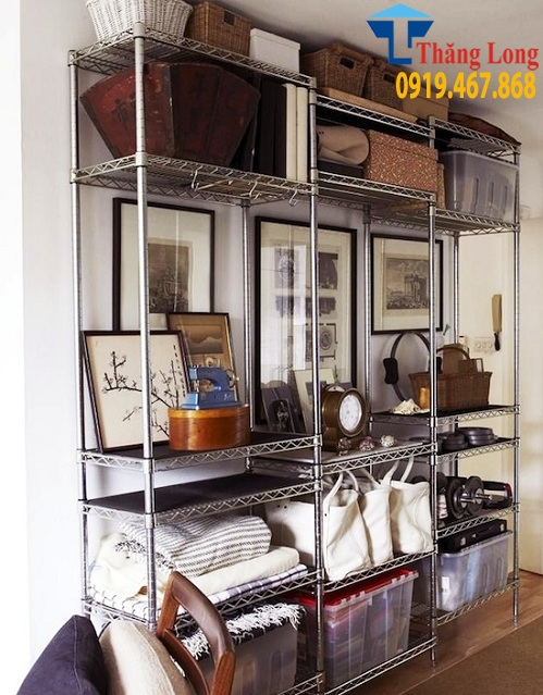 Nên dùng loại kệ nào để cất giữ và trưng bày đồ dùng cá nhân ngăn nắp ?