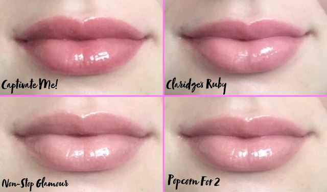 Rimmel London: Stay Glossy Lip Gloss Lip Swatches
