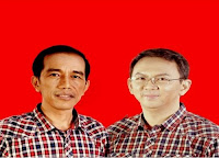 Joko Widodo dan Basuki Tjahaya Purnama