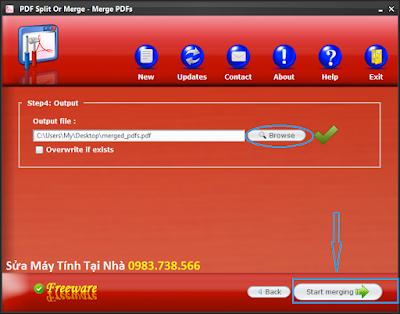 Cắt file PDF với PDF Siplit Or Merge - H13