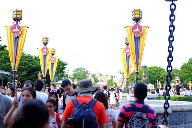 Inside Hong Kong Disneyland
