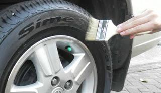 Tips Merawat Ban Mobil dengan Semir Ban Mobil yang Bagus
