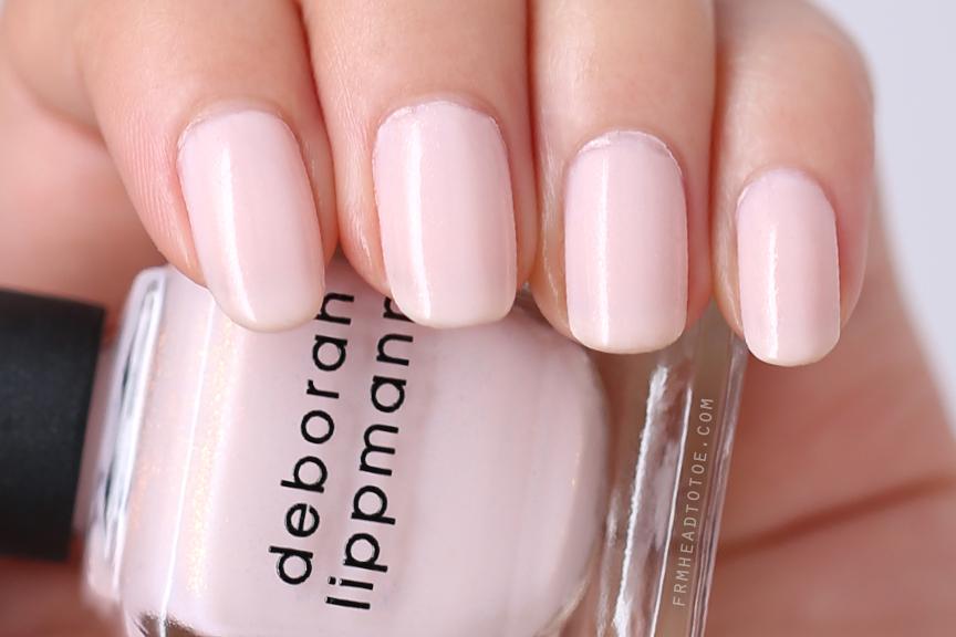 Manicure Monday Deborah Lippmann La Vie En Rose From
