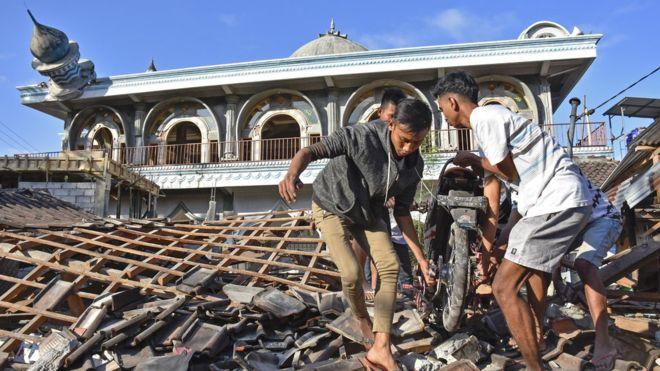 Yang Tersisa Setelah Gempa Lombok