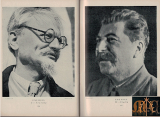 Trotsky & Stalin - Lilliput Magazine Mar. 1938