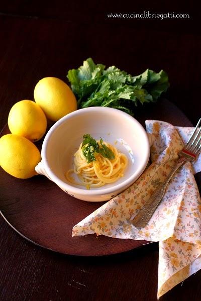 ricetta pasta al limone e broccoli