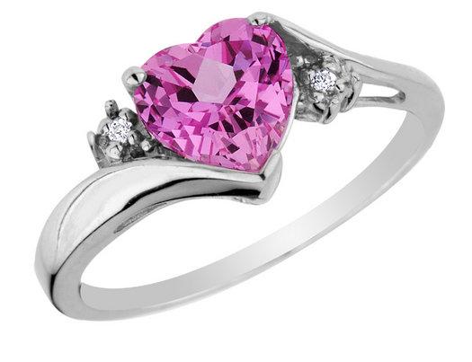 pink wedding rings - Pink Wedding Ring