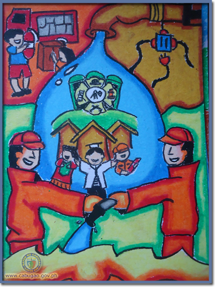 bayan ng cabugao  drawing  poster making  and essay