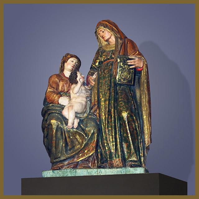 Domvs pvcelae theatrum santa ana con la virgen y el ni o - Santa ana valladolid ...