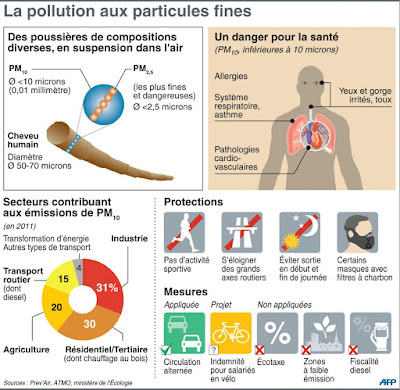 pollutions aux particules fines
