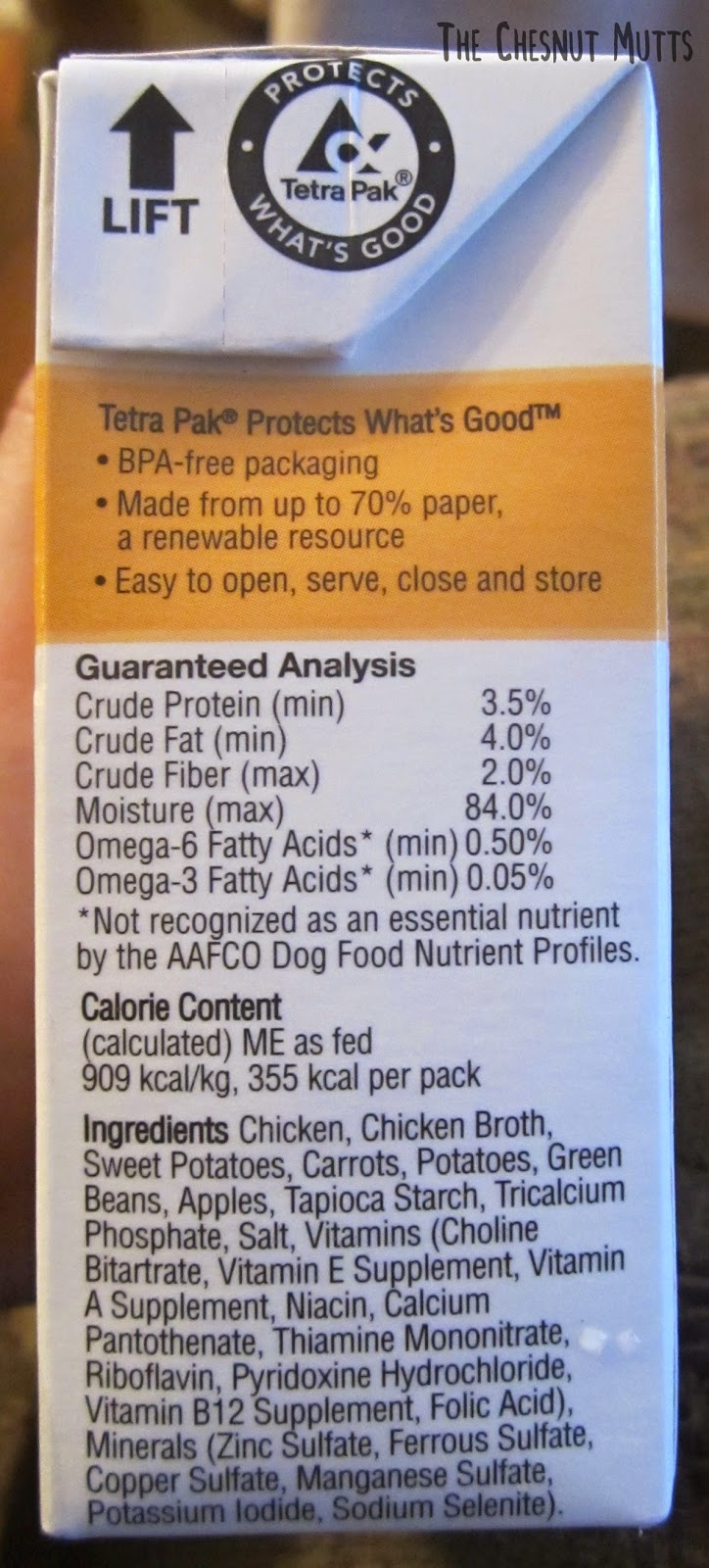 Tetra Pak Protects What's Good. Ingredients for the stew