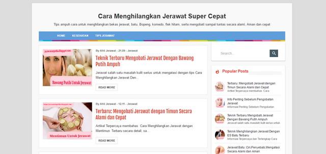 Evo Simple Valid AMP Blogger Templates