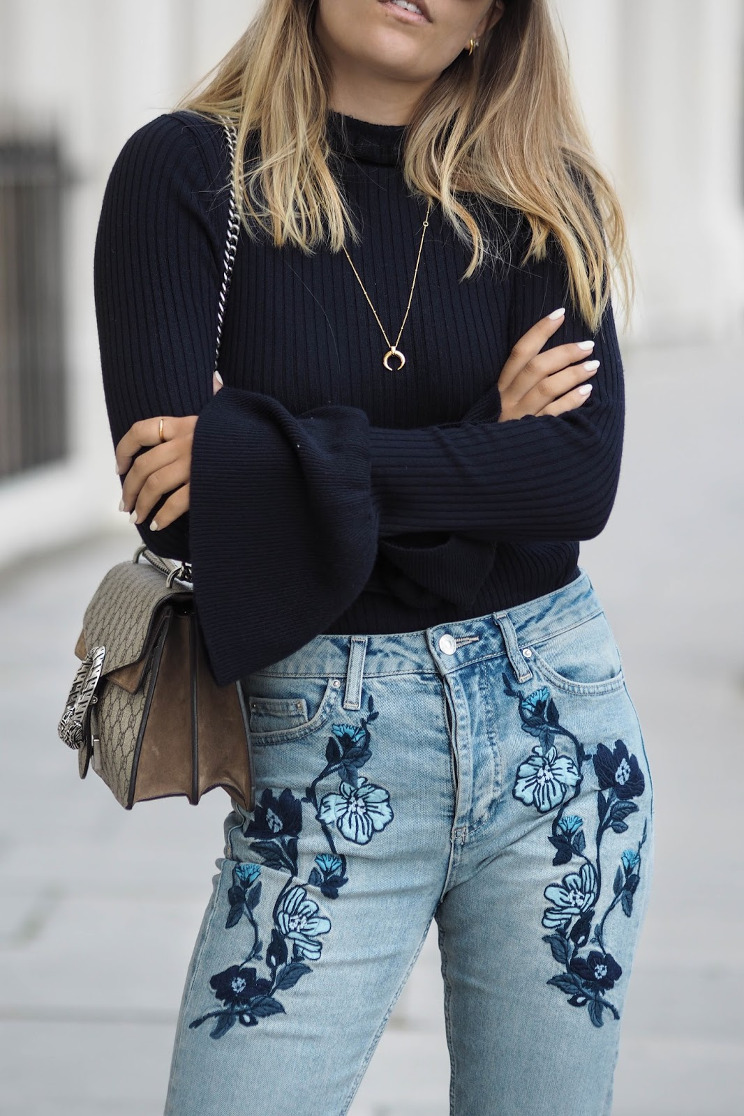 Style Trend: Embroidered Jeans | Kayla Lynn