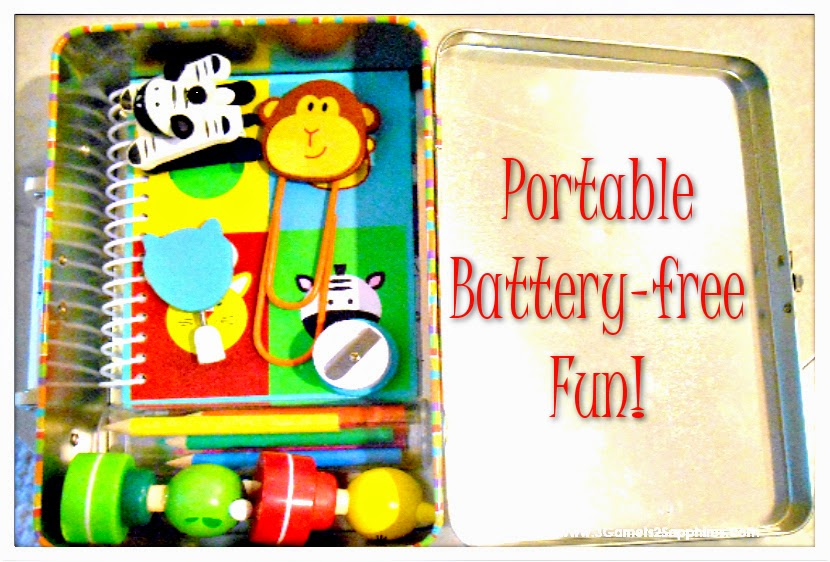 Portable battery-free fun for kids