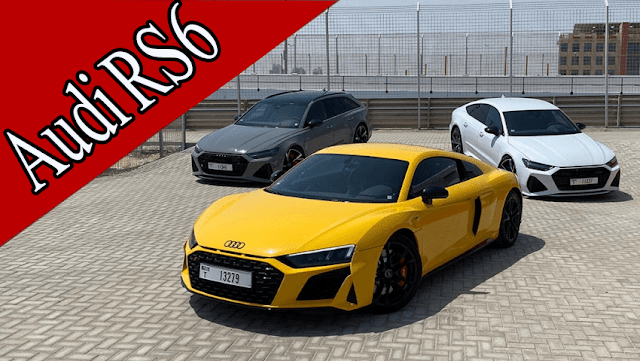 We tried the Audi RS fleet, a supercar flying mind