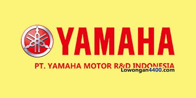 Lowongan Kerja PT. YAMAHA MOTOR R&D INDONESIA (YMRID)