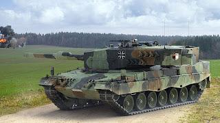 Tank Leopard Jerman