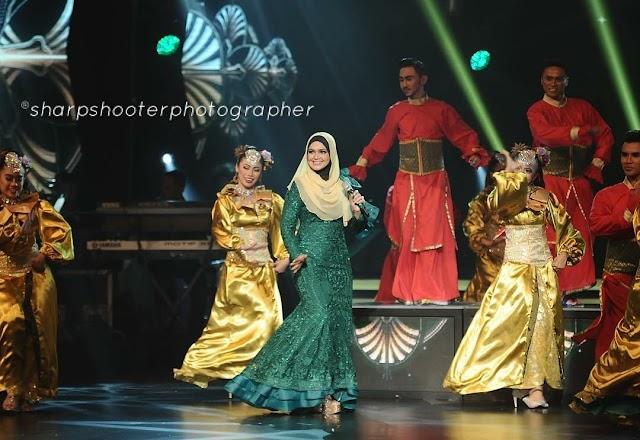 Dato Siti Nurhaliza Memukau Di Gegarvaganza 3