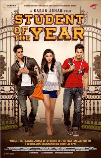 Student Of The Year [2012] 1CD DVDRip XviD Free Download Watch online