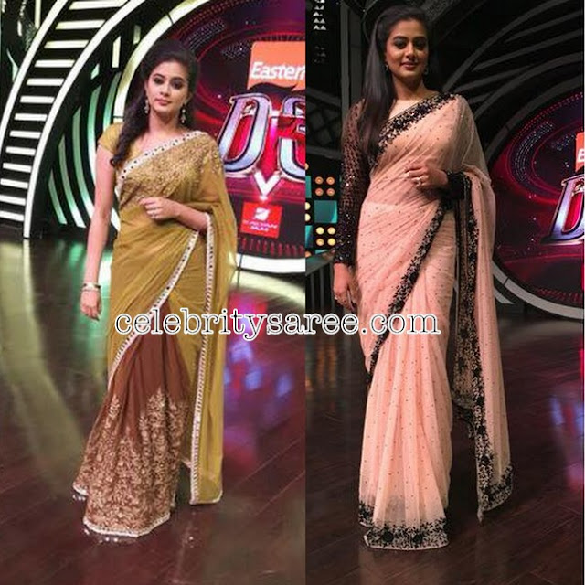 Priyamani in Purima Designer Saris