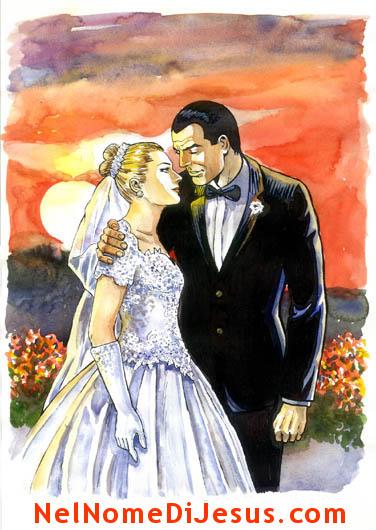 Lettera d amore di dio agli sposi for Sposi immagini
