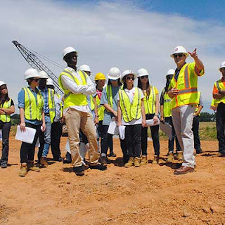 Engineering Students Visit Garver Tulsa Office