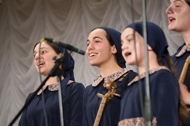 В МДА состоялся концерт грузинского хора Сергиев Посад