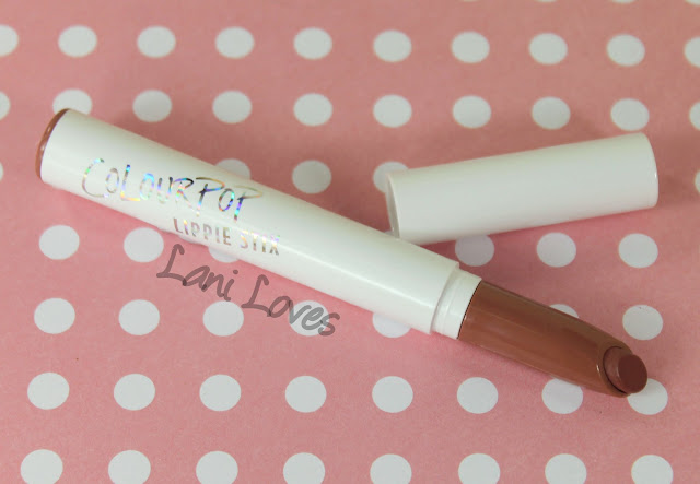 ColourPop Lippie Stix - Tootsi Swatches & Review