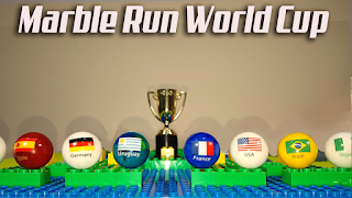 World Cup MARBLE RACE 2018 - Marble Sports Football - Lego