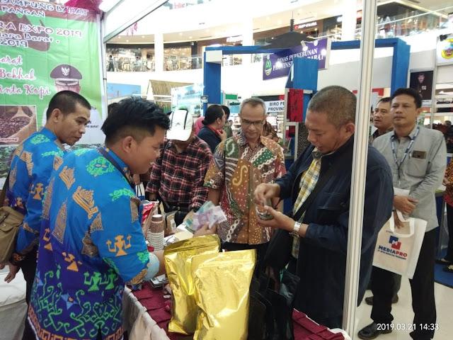 Pameran GPN,  DKP Lambar Tampilkan Produk Pangan Lokal