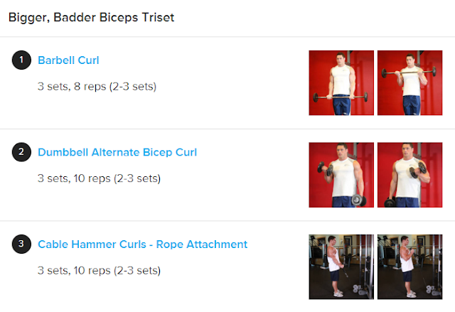 Muscle-Day: Triceps And Biceps Workout