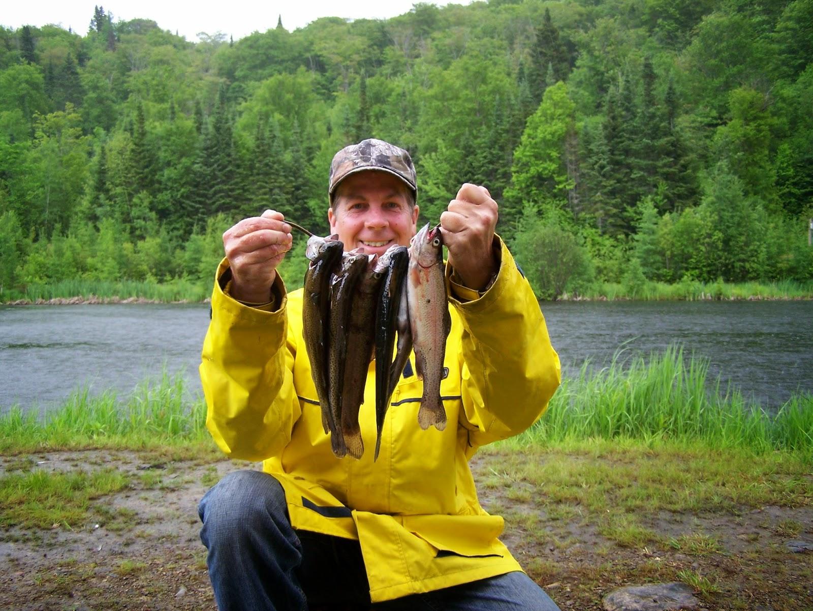 Pêche truite mouchetée, pêche omble de fontaine, blogue de pêche, parlons pêche