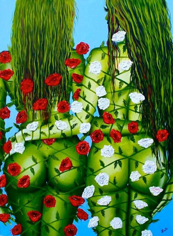 Современные художники Мексики. Lisete Alcalde 14